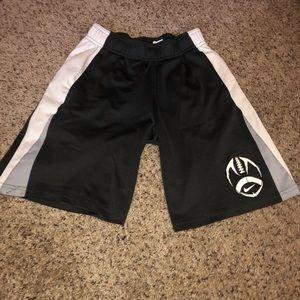 Boys Nike athletic say small shorts